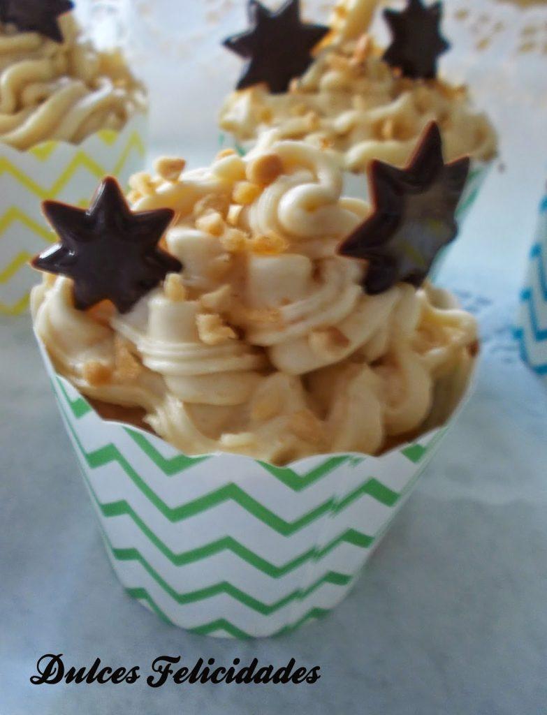 Cupcakes de turrón