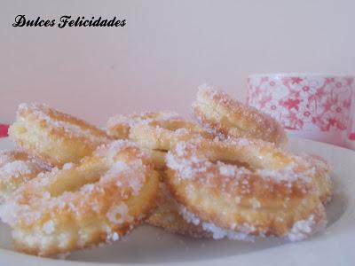 Rosquillas de hojaldre