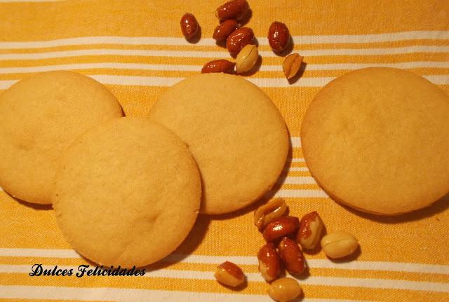 Galletas veganas de mantequilla de cachuete