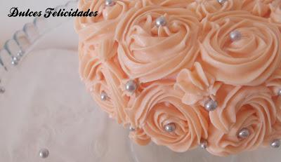Tartas decoradas con buttercream