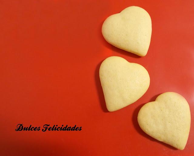 Galletas de mantequilla light con aroma de azahar