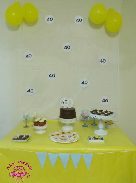 Mesa dulce 40 años