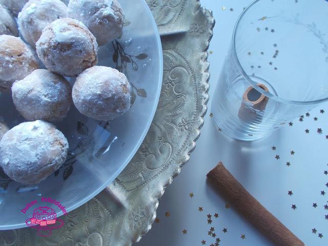 Bolitas de canela receta árabe