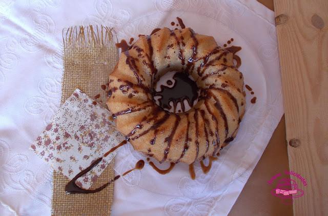 Bundt cake (bizcocho) de avena y pasas