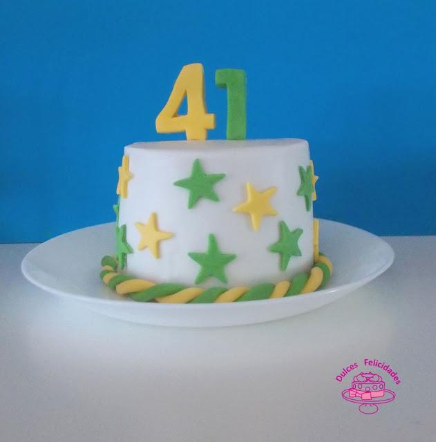 Tarta 41 cumpleaños