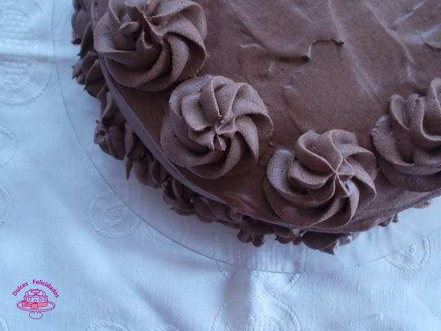 Devil's Food Cake o pastel del diablo