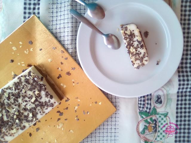 Tarta de café y leche condensada con base de pan de molde