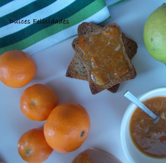 Mermelada de mandarina y limón (mermelada de cítricos)