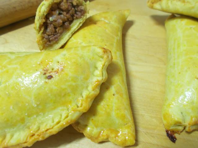 Patty Jamaicano o Jamaican beef Patties