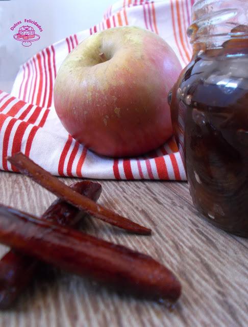 Mermelada de manzana y canela