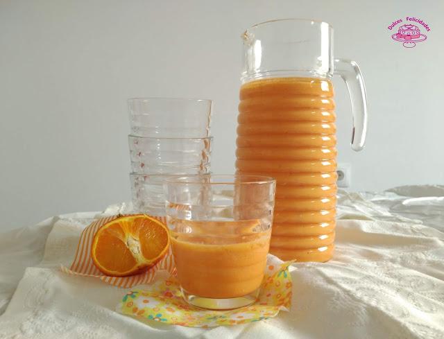 Gazpacho de naranja
