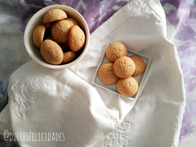 Galletas mini de mantequilla con azúcar de caña