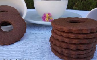 Galletas de mantequilla y cacao Galletas de chocolate caseras