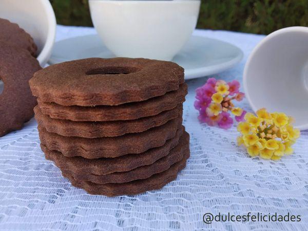Galletas de mantequilla y cacao