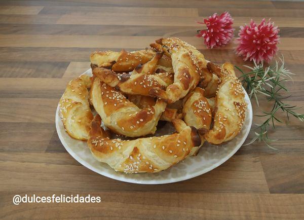 Borek turco. Empanadas turcas de queso feta