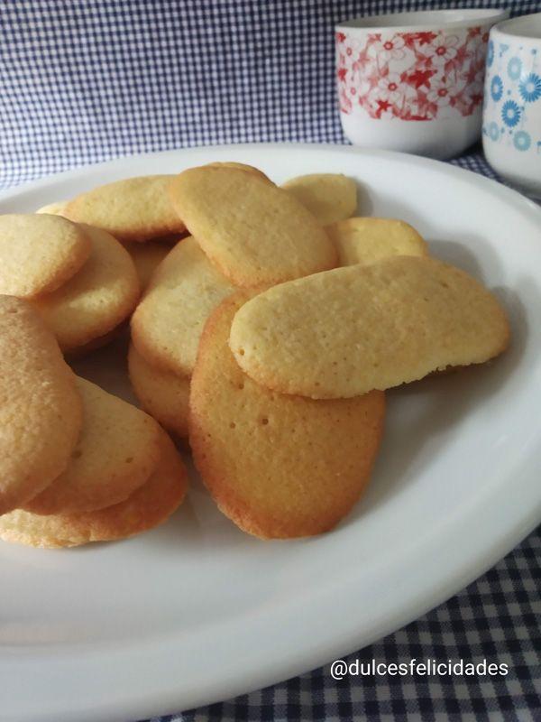 Lenguas de gato receta de repostería tradicional